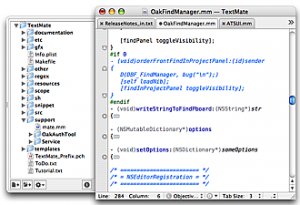 TextMate, the missing editor