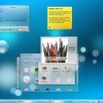 Le desktop de KDE sous Linux
