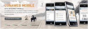 Le projet de site iPhone pour LunaWeb