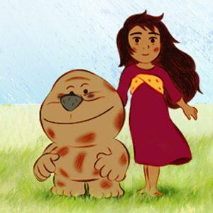 """L'univers original du film """"Mia et le Migou"""" inspirant le jeu Crédit Agricole"""