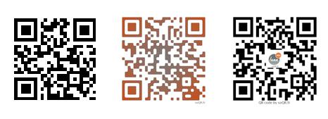 Les QR code de LunaWeb