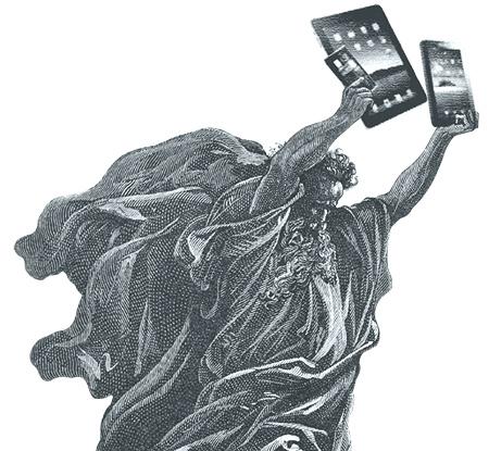 Moise et ses tablettes de la loi