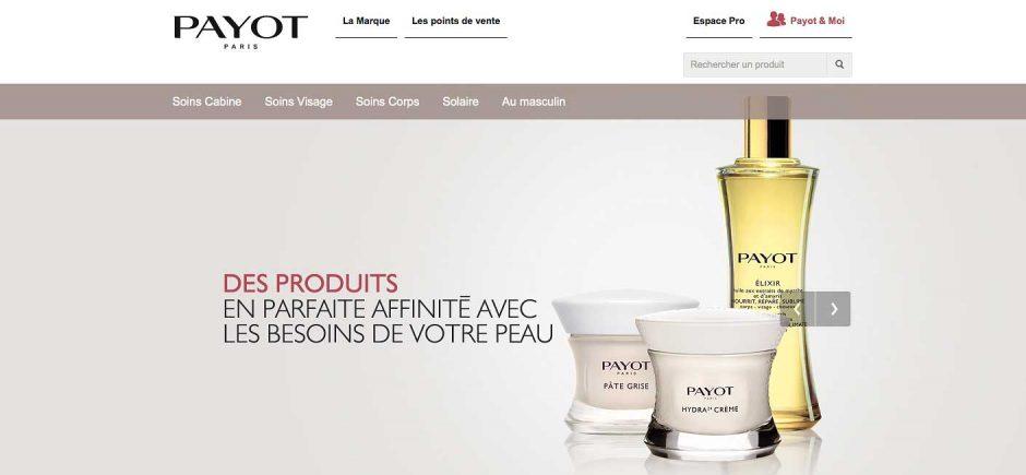 Refonte produit Payot