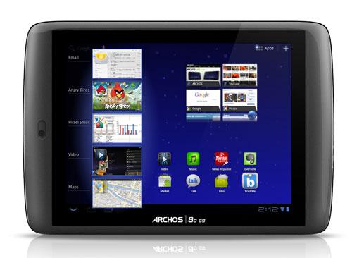La tablette Archos 80 G9