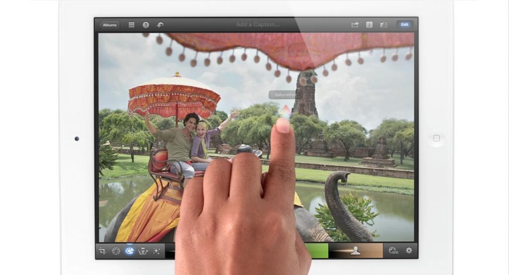 Le dernier iPad, HD
