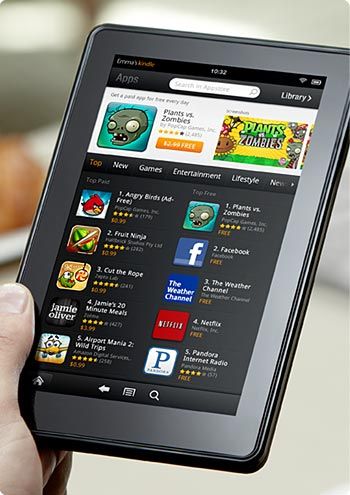 La Kindle Fire d'Amazon