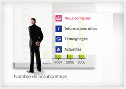 Capture d'écran du site Verlingue.fr