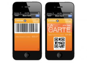 Leclerc intègre sa carte de fidélité au Passbook iOS6