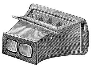 Tv connectée stéreoscope