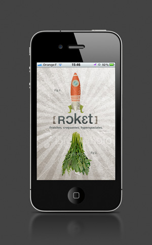 Rocket, application iPhone LunaWeb