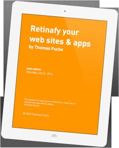 Retinafy your web sites & apps
