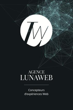 Identité Agence LunaWeb