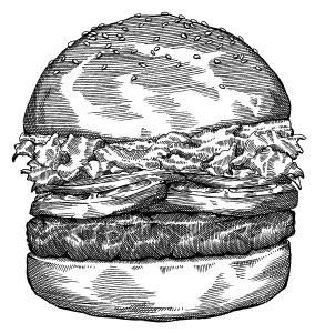 Le burger comme métaphore du design web