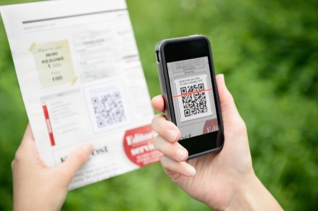 Un QRcode sonné par smartphone depuis un papier
