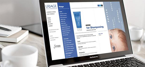 Le prototype HTML responsive du futur site d'Uriage