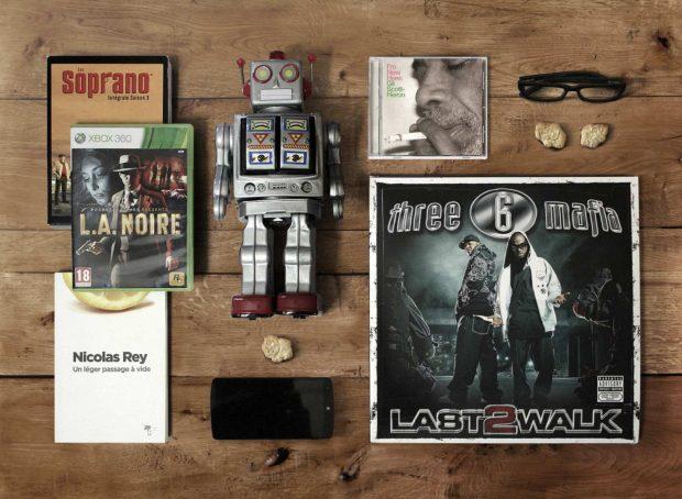 Les objets préférés d'Anthony, développeur Front-end chez LunaWeb
