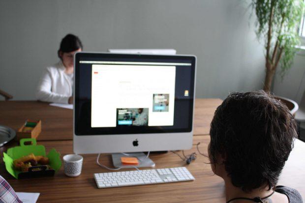 Les tests utilisateurs sur desktop avec LunaWeb