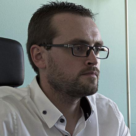 Guillaume Lammerant, chef de projet chez LunaWeb