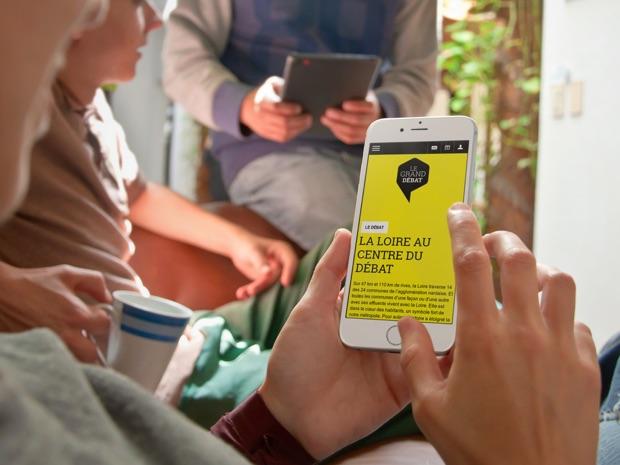 Le site Nantes, la Loire et Nous vue sur mobile