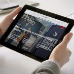 Le web-magazine Infos Securitas vu sur tablette