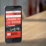 Site web pour Le Musée de la Danse en Responsive Design