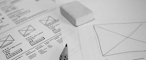 wireframes conception ux