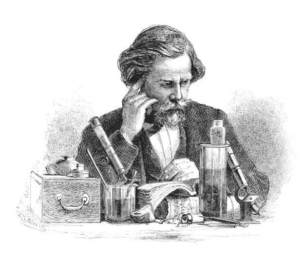 Un homme, philosophe, en pleine réflexion