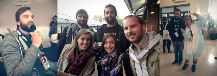 Équipe LunaWeb à Paris Web 2015