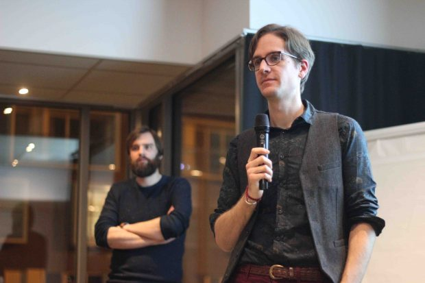 Colin Fay en conférence avec UX Rennes