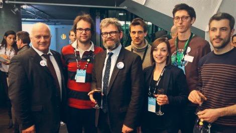 Audrey Rivy de l'Agence LunaWeb avec le Consulat France Quebec