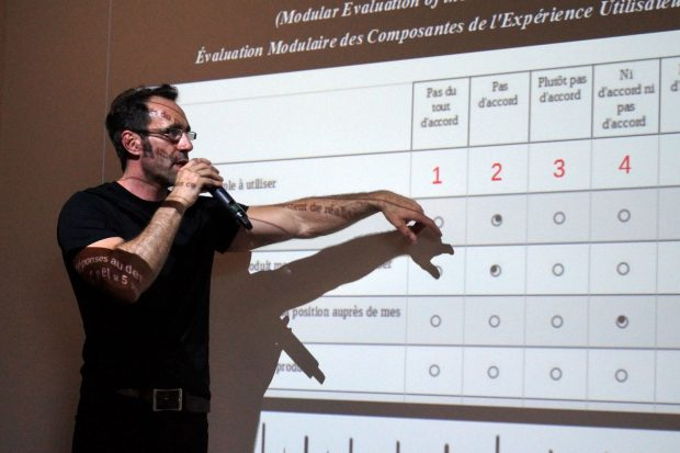 Slide 4 Laurent Demontiers avec UX Rennes et LunaWeb