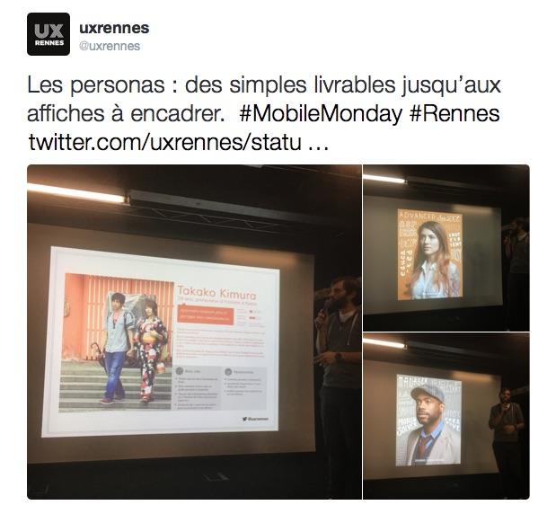 Du personas pour connaître ses utilisateurs, conférences UX Rennes et LunaWeb