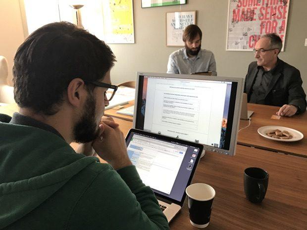 Observation des usages d'un internaute testeur chez LunaWeb