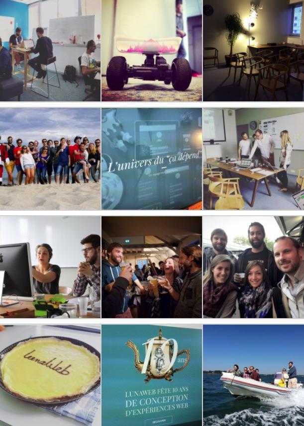 Quelques photos coulisses de l''Agence LunaWeb