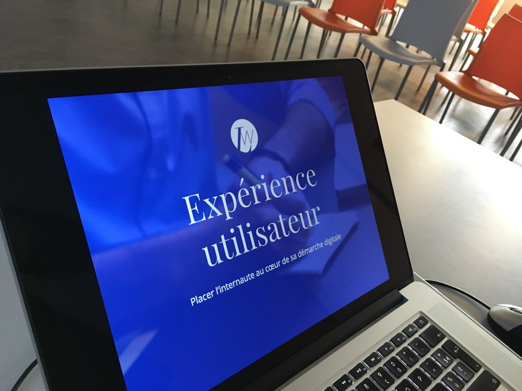 User eXperience avec LunaWeb pour la Matinale XXL de Com&Médias