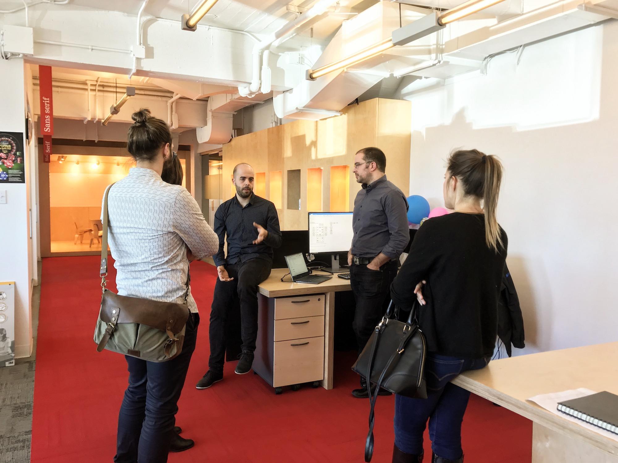 La rencontre avec Nicolas Baldovini, conférencier au WAQ et directeur expérience et design chez lg2 a été un grand moment de la semaine.