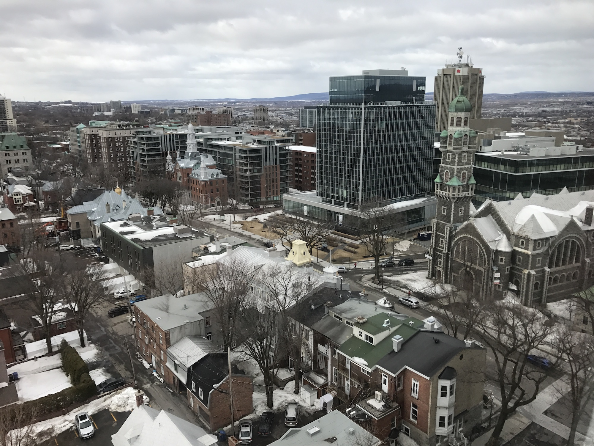 Québec, une jolie ville à la fois historique et très vivante.