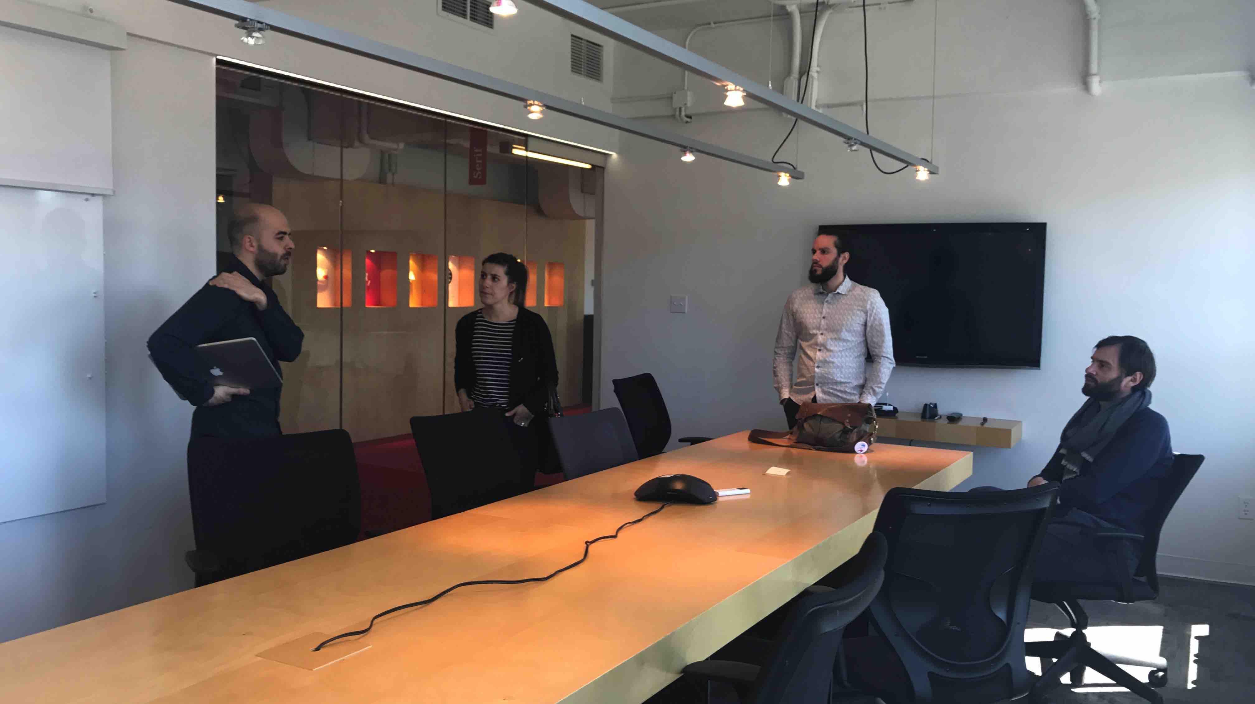 Visite chez Lg2 à Montréal avec LunaWeb