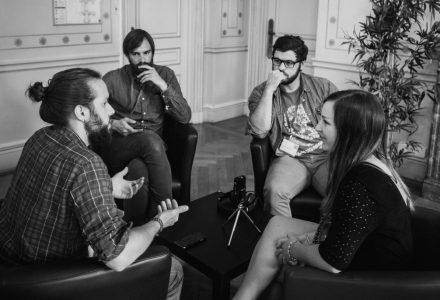 Une interviews dynamique et inspirante de Carine Lallemand par nos designers - Photo Thanh - FLUPA