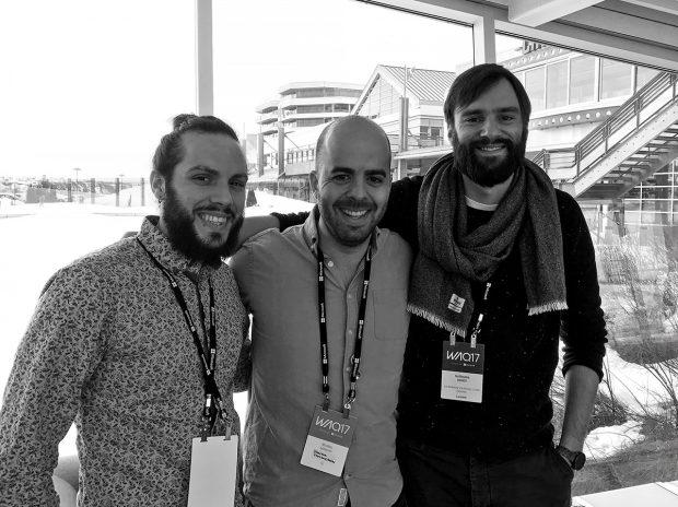 Rencontre entre Nicolas Baldovini de chez lg2 et Salut les designers - Agence LunaWeb