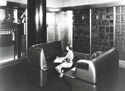 Intégrateur numérique électronique et ordinateur (ENIAC) 1946.