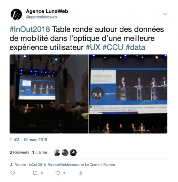 ux et data InOut 2018 - lunaweb