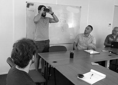 Test de rendu VR pour le projet viaccess virtual arena