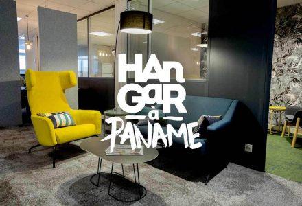 Nos bureaux parisiens du Hangar à Paname