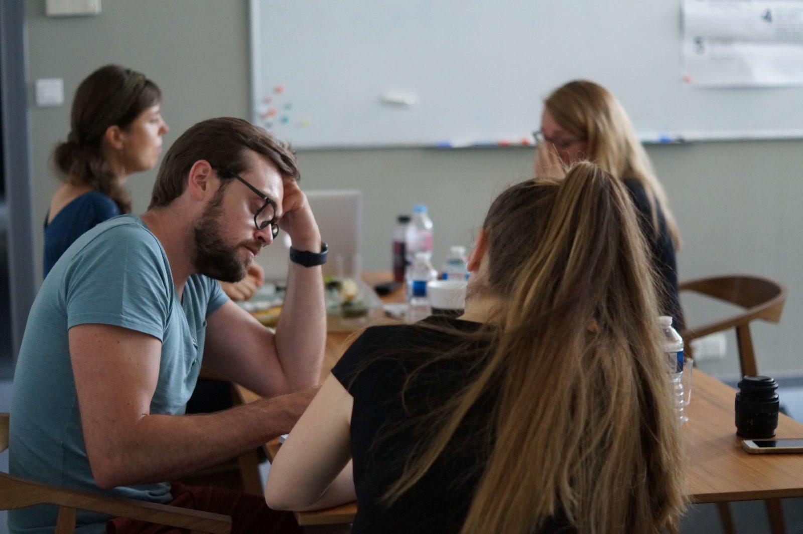 Atelier UX phase brainstorming chez lunaweb