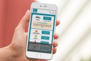 MAAF homepage mobile