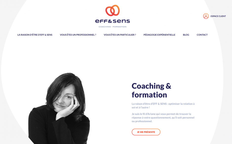 Eff&Sens réalisation web lunaweb