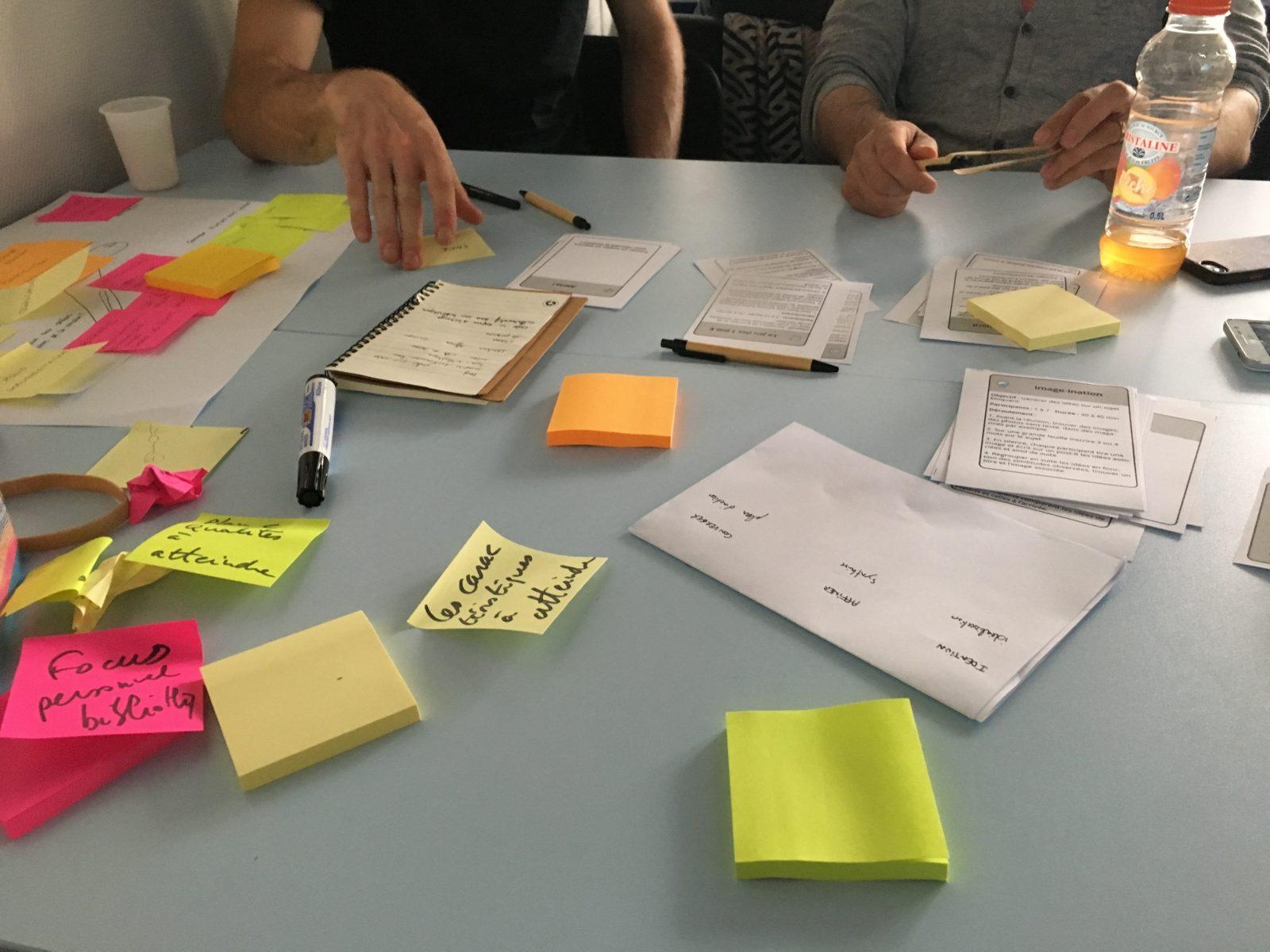 Atelier de conception UX pour Imosteo