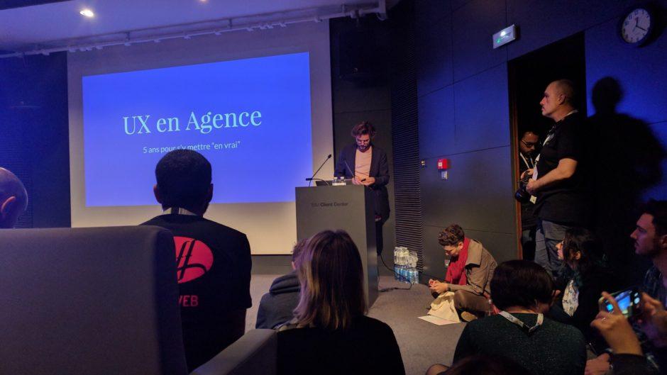 Conférence Nicolas Le Cam à Paris Web 2017