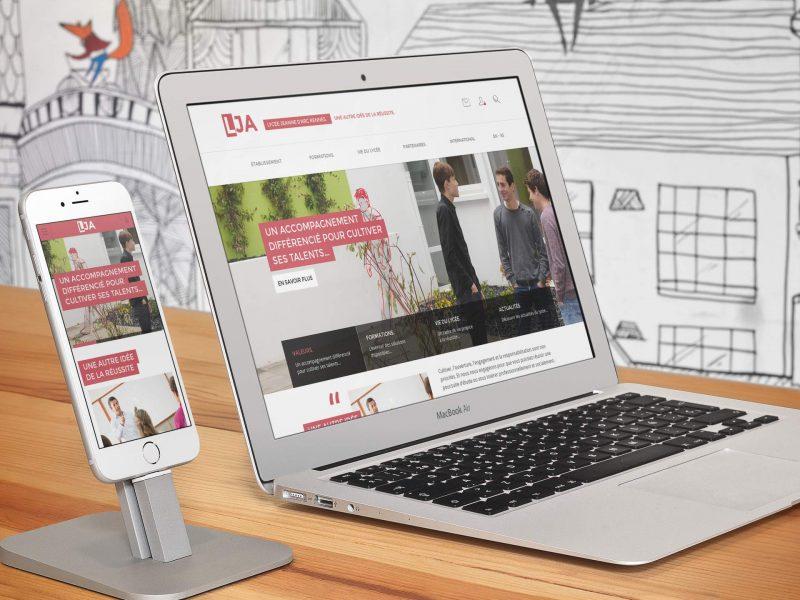 responsive design LJA